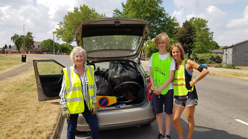 Billing Parish community clean up